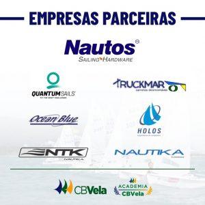 Empresas parceiras da Academia CBVela